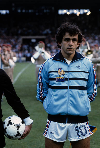 Pin By Keyon Robin On World Cup Michel Platini Football Photography Football Images