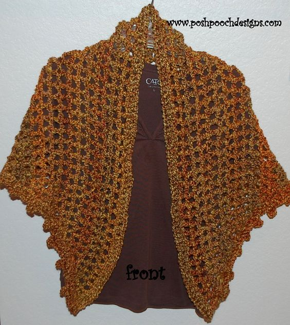 Everyday Shawl By Sara Sach Free Crochet Pattern Ravelry