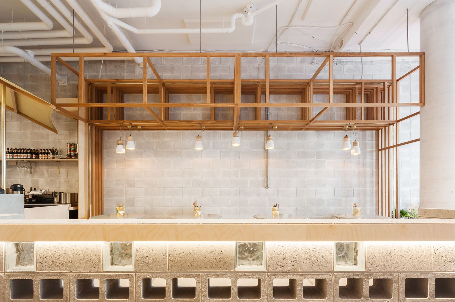 In Waterloo Sydney Design Firm BrandWorks Has Used A Little Thing Called Luck To Create So Refined And Minimal Vietnamese Restaurant