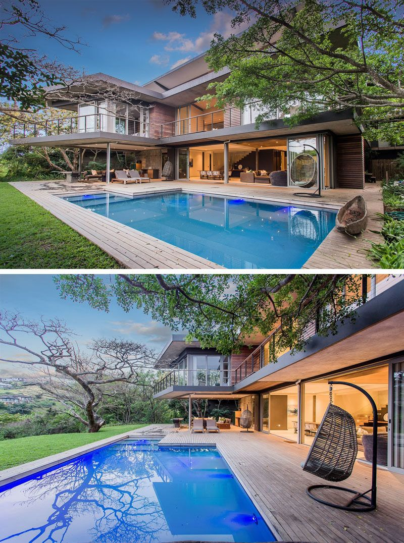 An Outdoor Lounge Adds Extra Living Space To This South African House