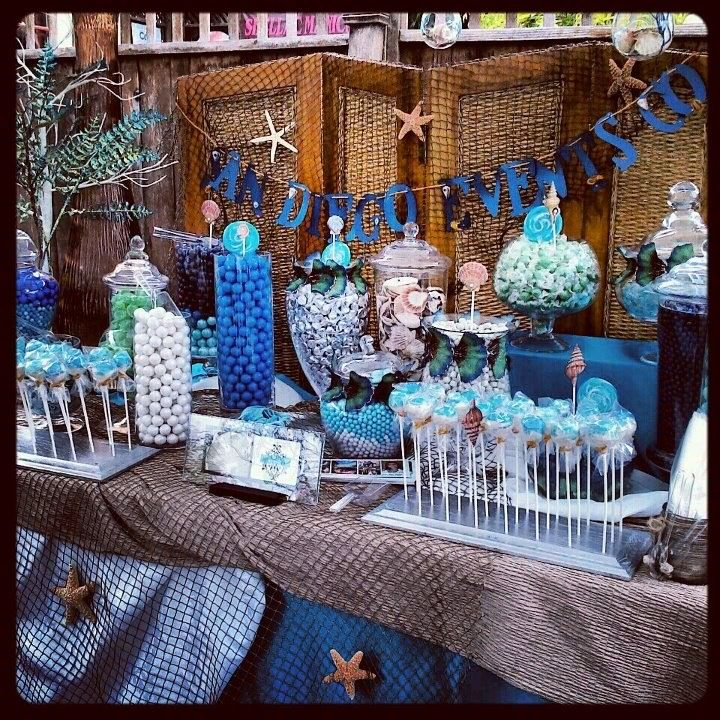 Under The Sea Custom Candy Buffet Candy Buffets Candy