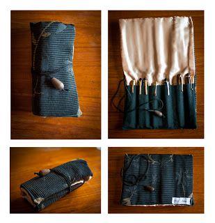 modelo cordn con dije exterior tela de tapicera interior raso ideal para lapiceras