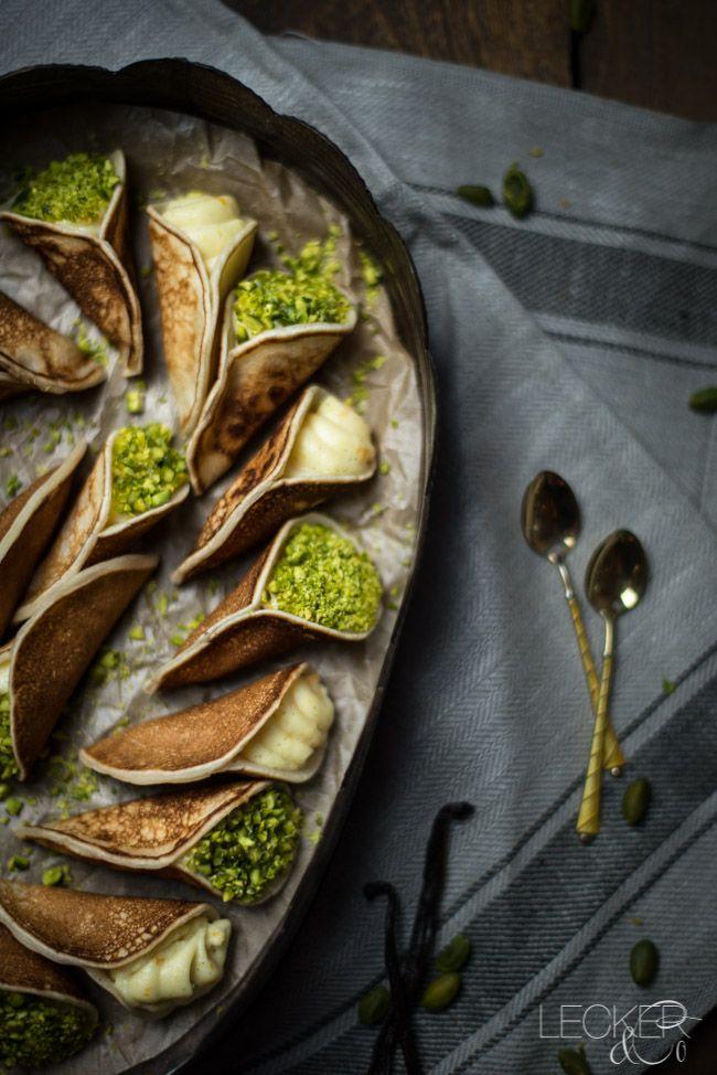 Photo of Atayef | Arabiske fylte pannekaker LECKER & Co | Matblogg fra Nürnberg