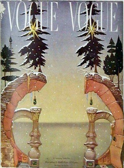 Salvador Dali's Vogue Cover-Christmas...