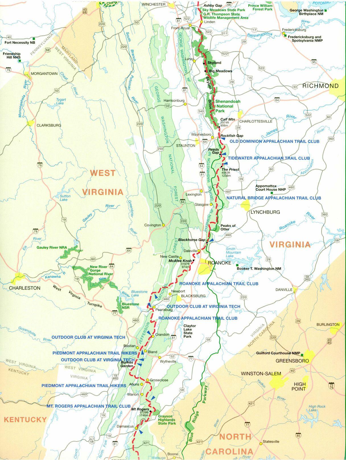 Pin on Appalachian Trail: 2