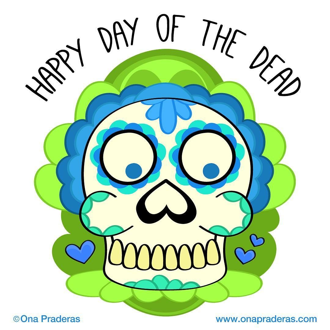 Happy day of the dead #dailydrawing #motivation #dayofthedead