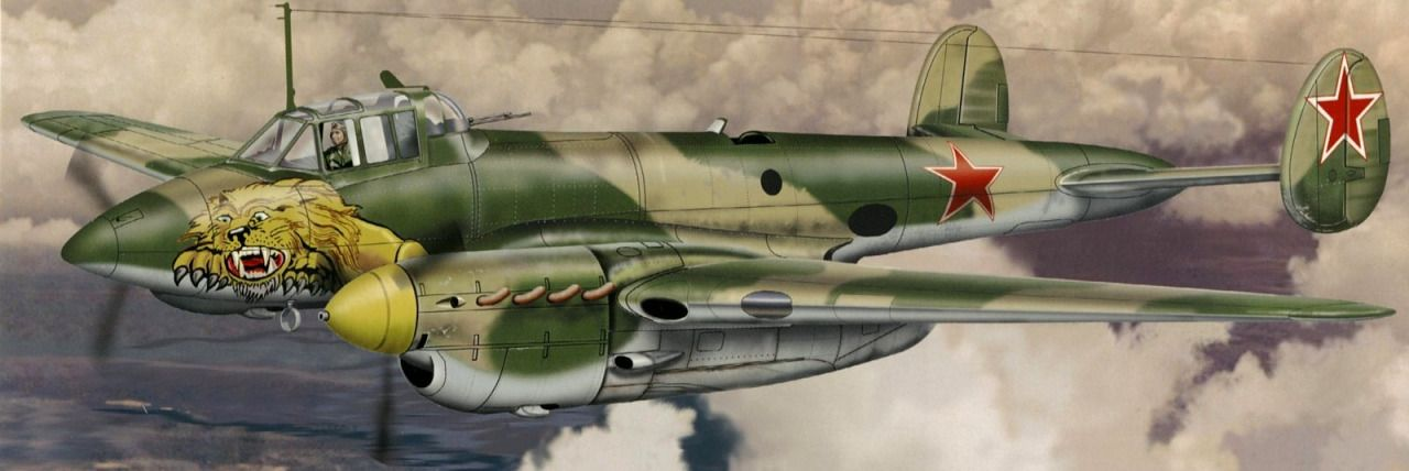 1944 Petlyakov Pe-2 recon - Don Greer