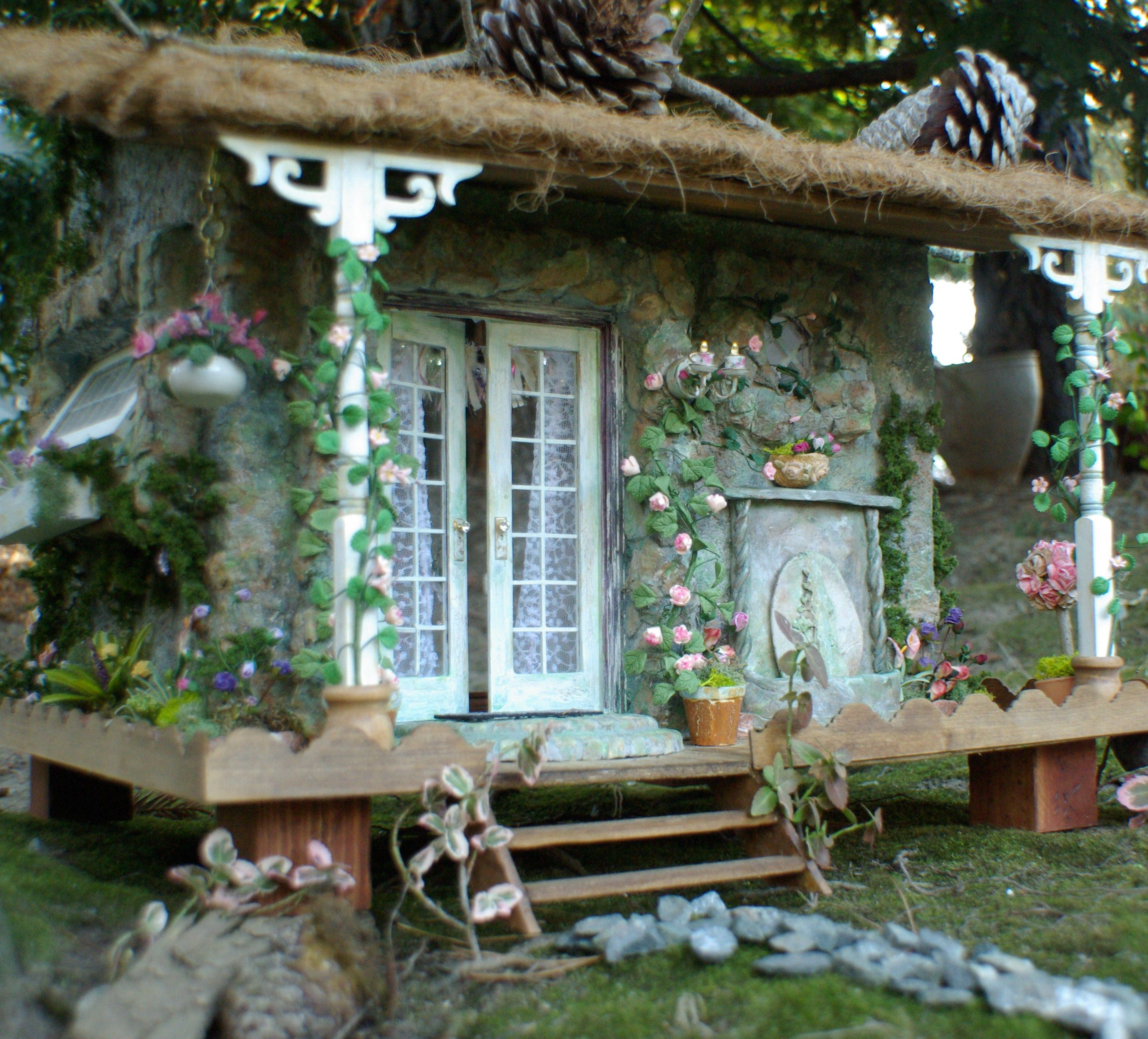 Kammys Creations Miniature 1:12 scale My English Cottage