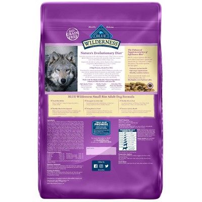 Blue Buffalo Wilderness Small Bite Adult Chicken Dry Dog Food