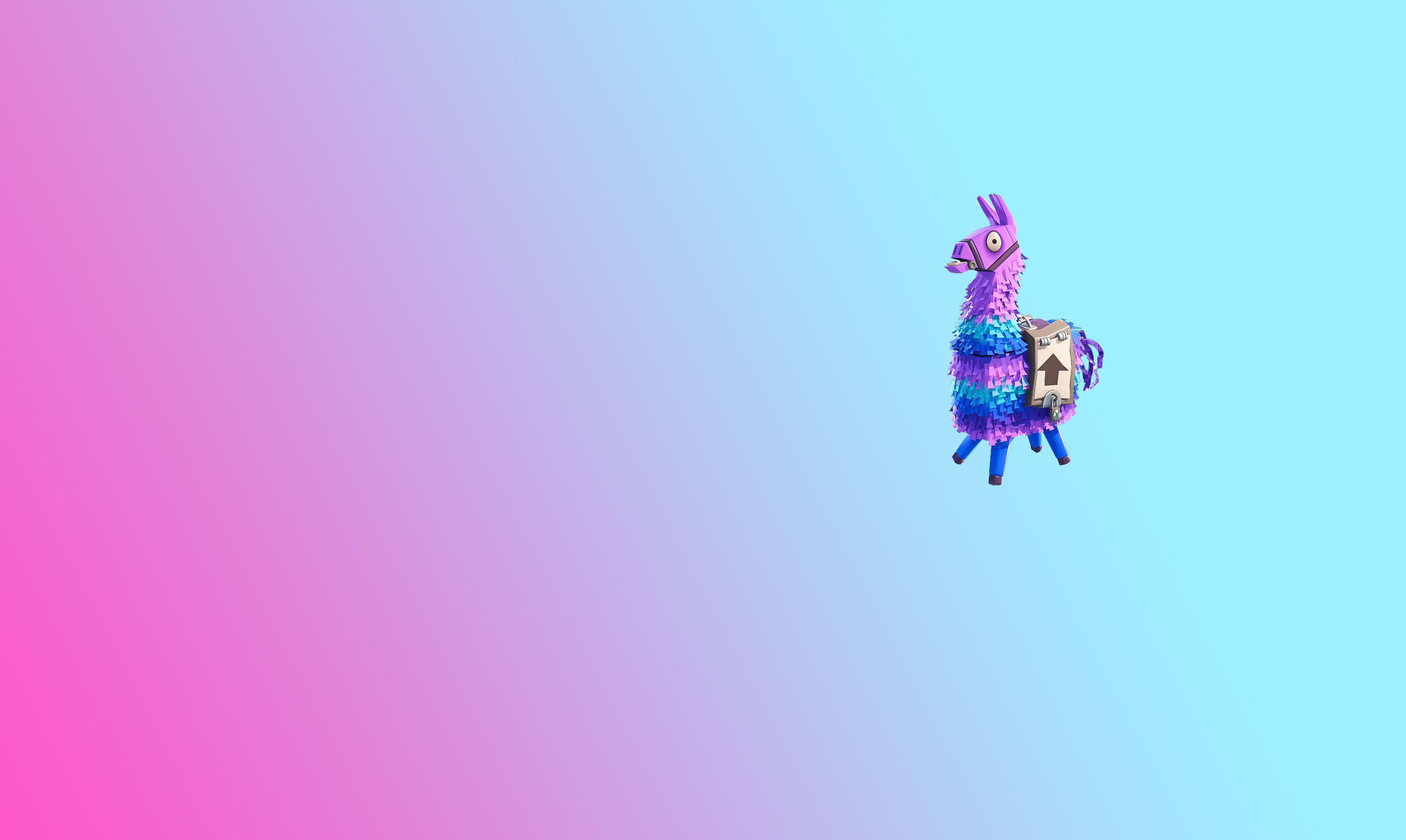 Peluche Llama de Fortnite