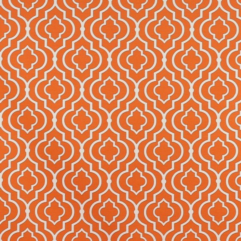Swavelle Starlet Fresco Outdoor Fabric - Mandarin