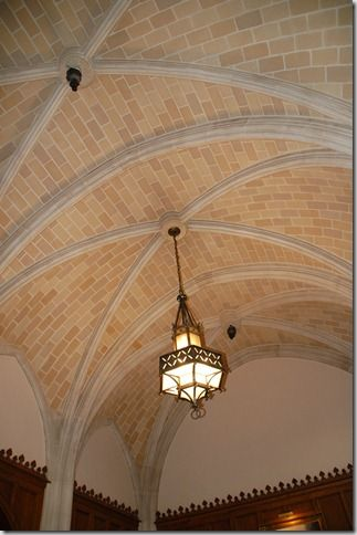 Groin Vaulted Ceiling With Brick Ceiling Ceiling Design Brick Arch