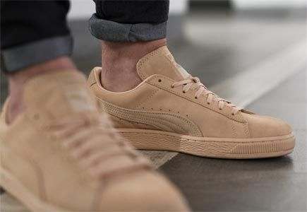separation shoes 2e774 3daf0 Puma Suede Classic Tonal Natural Vachetta | Dream closets ...
