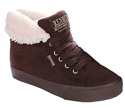 Winter boots increased within a short student warm shoes casual shoes plus velvet female