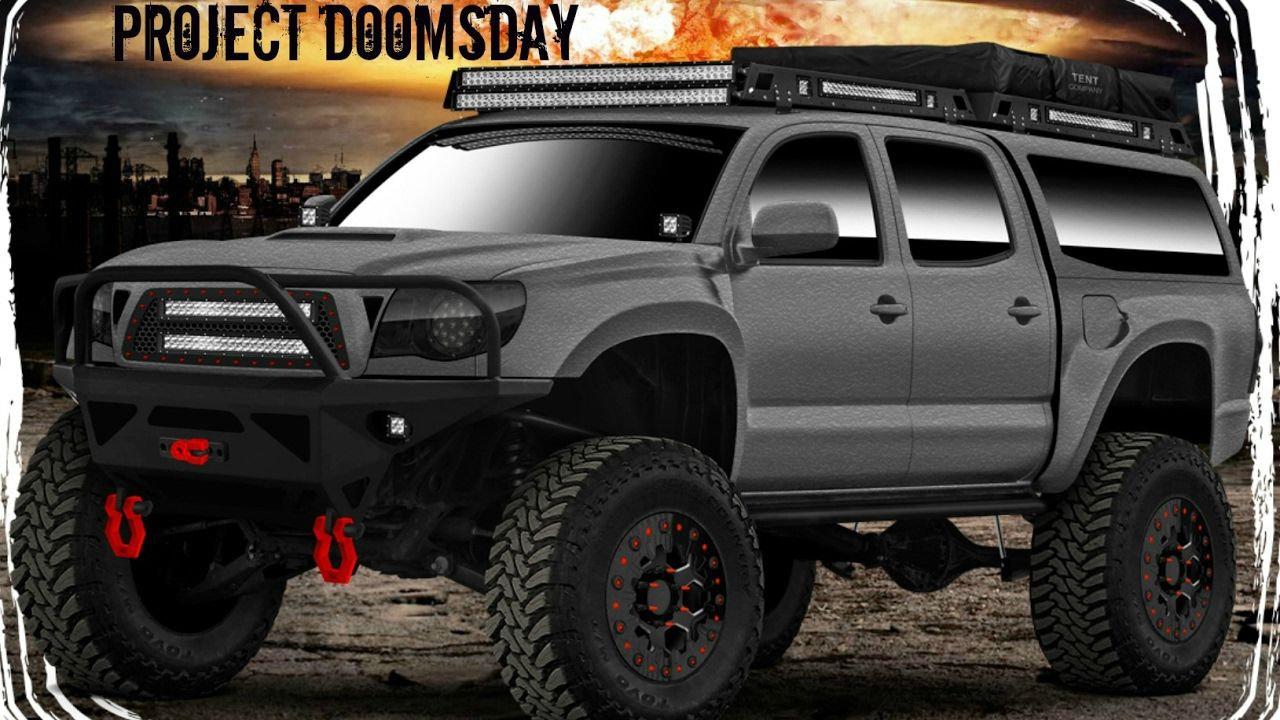 Project Doomsday gets raptor lined UPOL Raptor bedliner