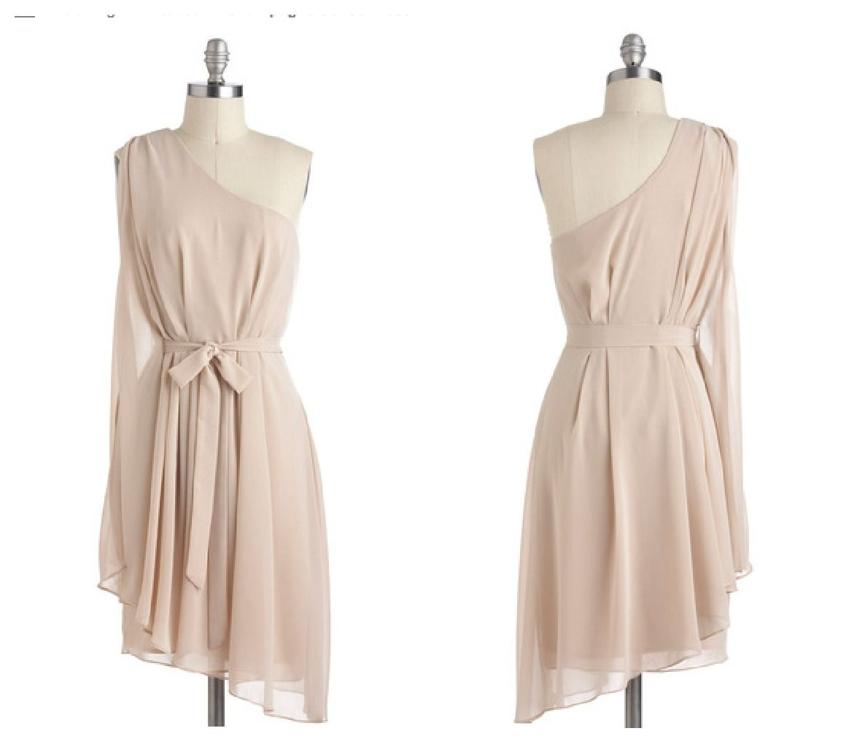 Cream dresses for weddings  Short White Wedding Sendoff Dress  Cream color dress Stylish