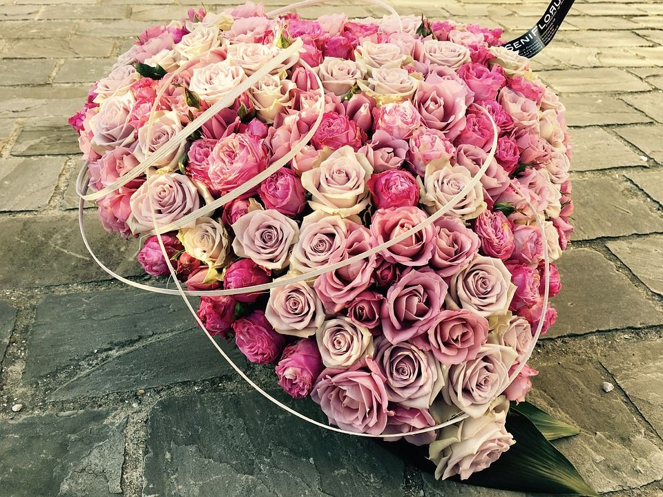 Free Image On Pixabay Rosses Bouquet Funeral Flowers Flower Delivery Same Day Flower Delivery Best Flower Delivery
