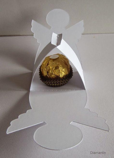 Diamantin S Hobbywelt Projekt Mit Ferrero Rocher Engel Basteln