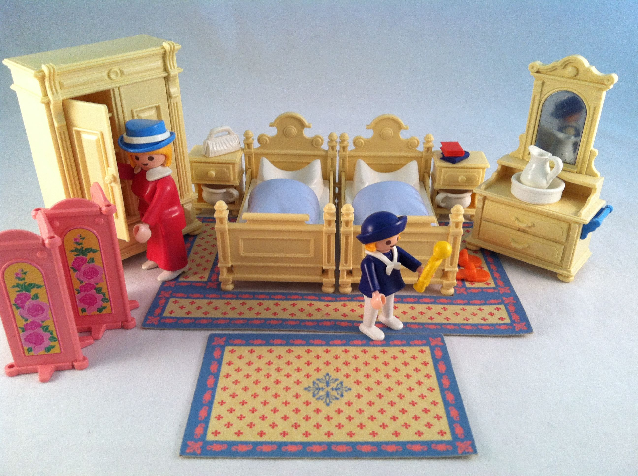 . The Master Bedroom of the Victorian Mansion     so cute  Sold for