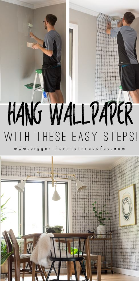 How To Wallpaper For Beginners Diy Wallpaper Diy Home Decor Projects Decor Project