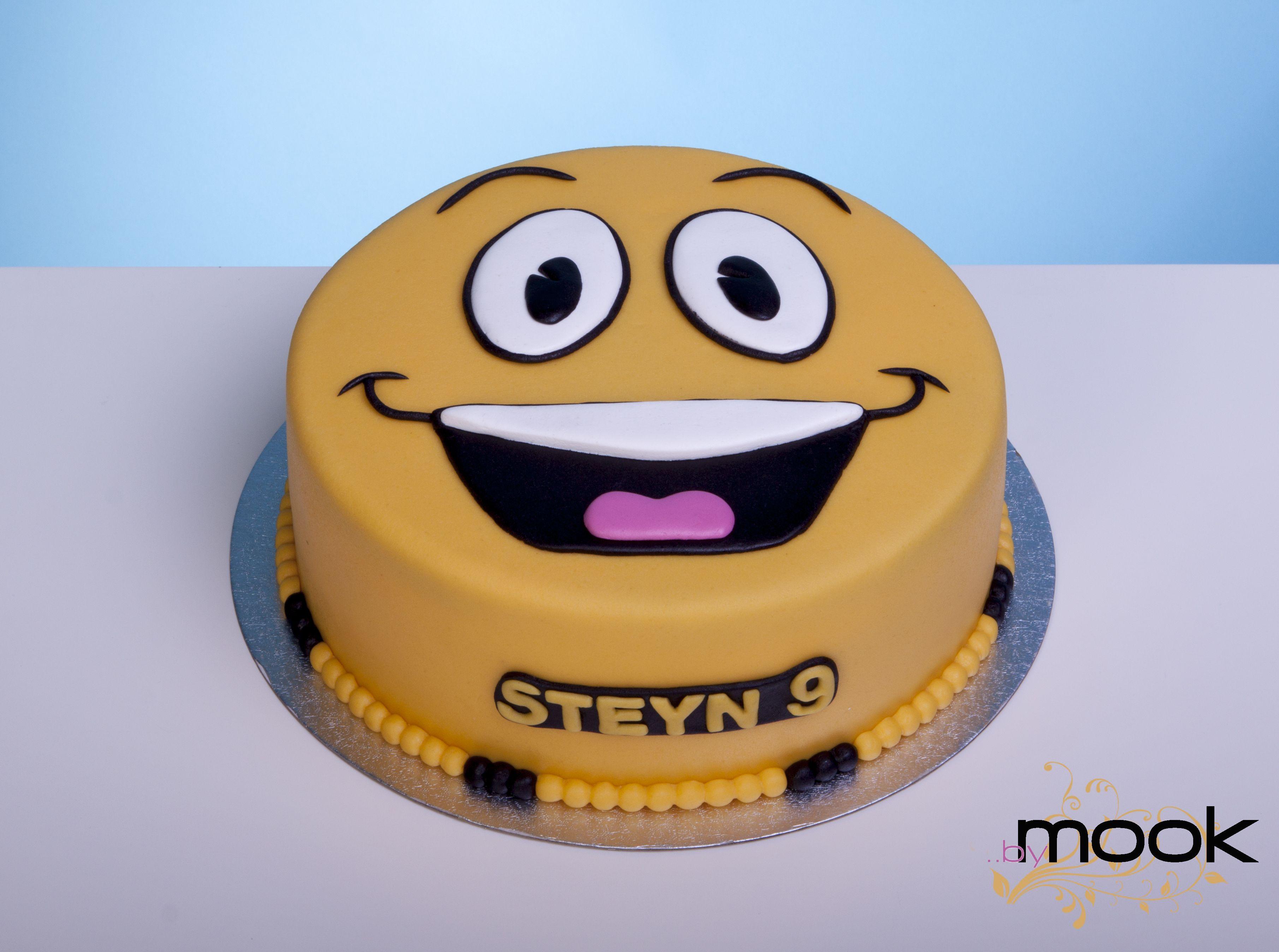 Birthday Smiley Cake