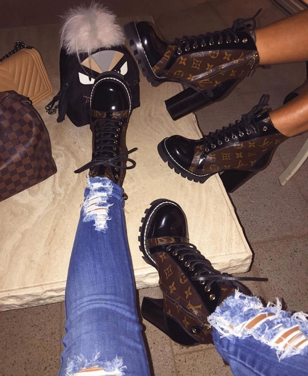 Cute outfits | Louis vuitton boots