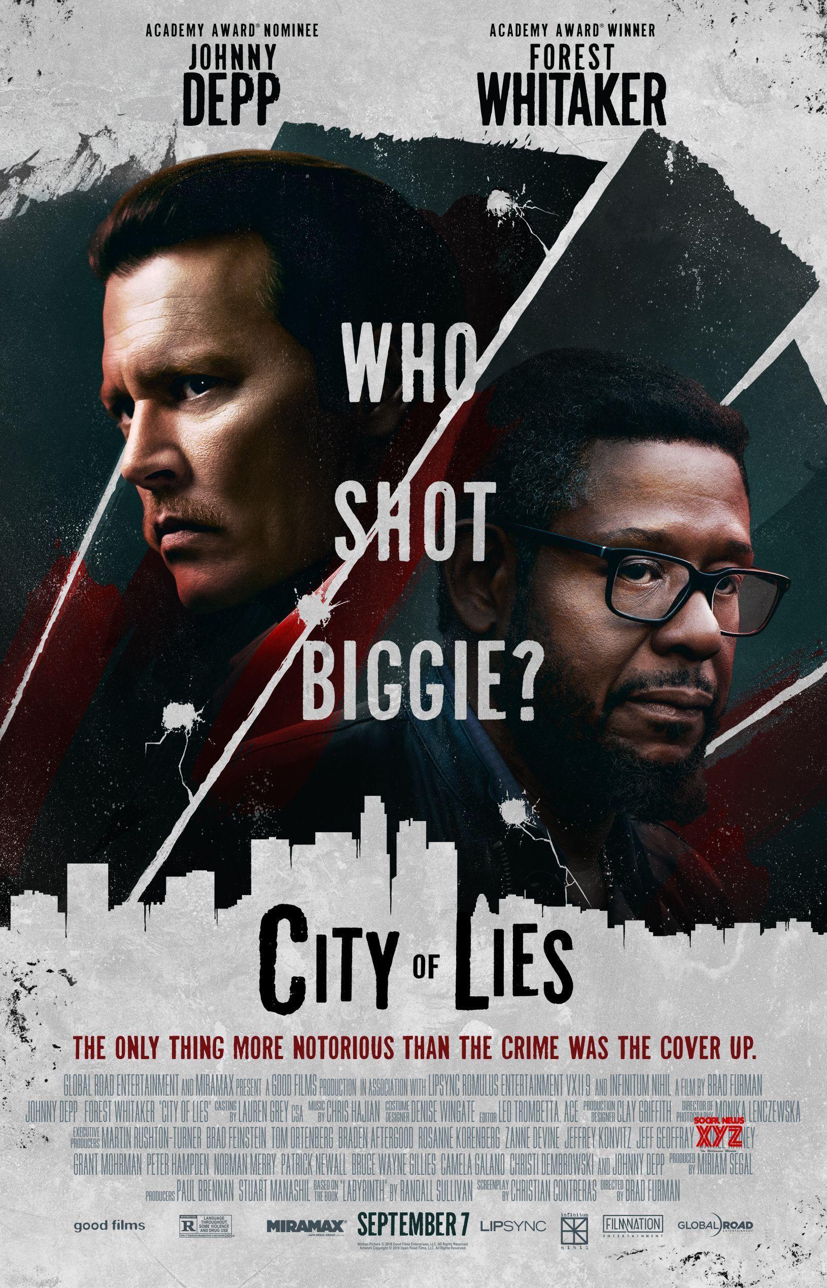 City Of Lies Movie HD Poster | Social News XYZ Gallery