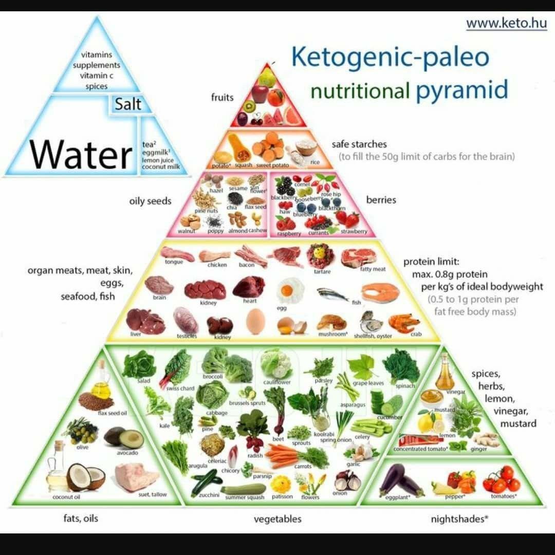 Keto pyramid | keto | Pinterest | Keto, Food pyramid and ...