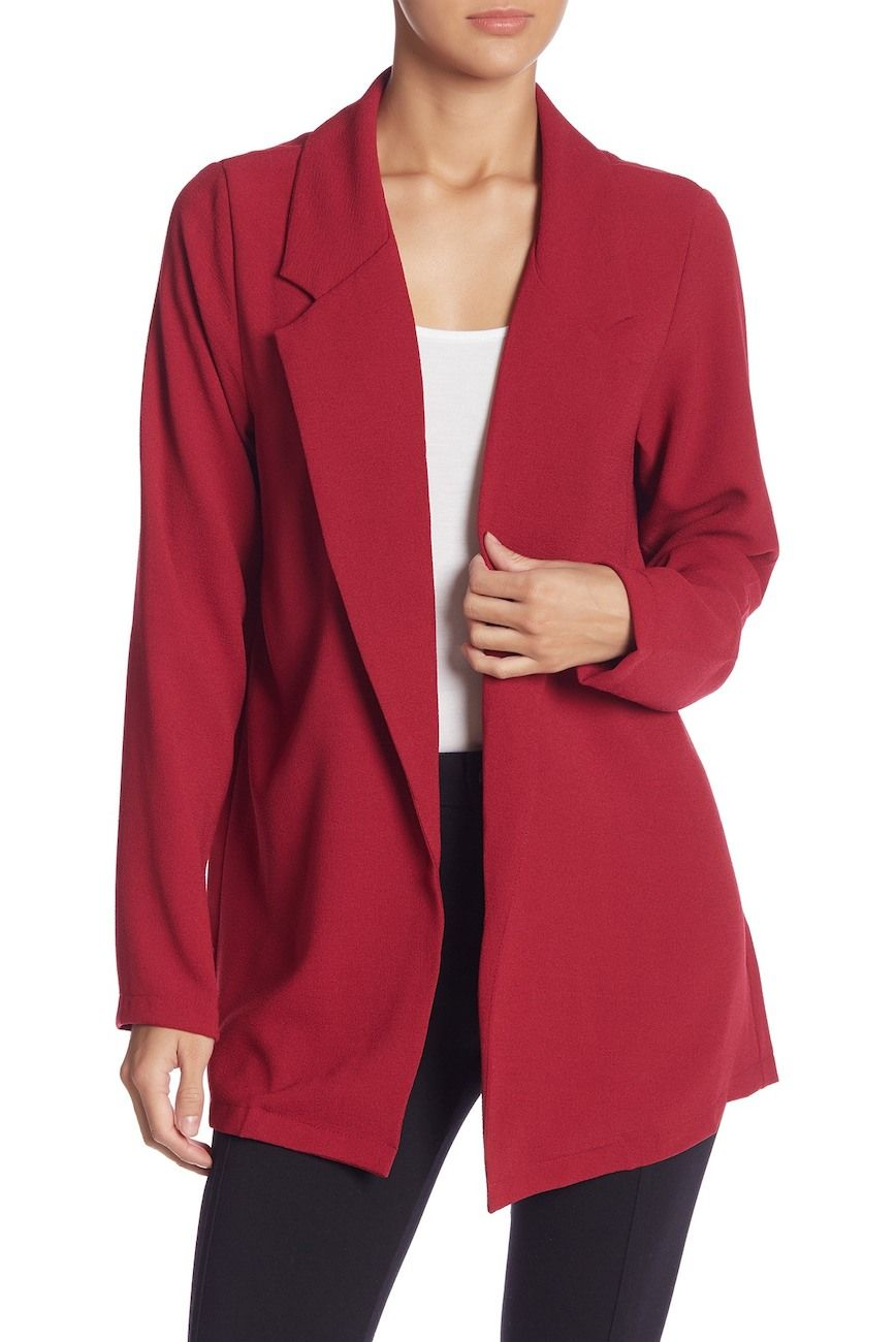 huge discount b7c9f 74919 Image of Lush Novak Crepe Blazer