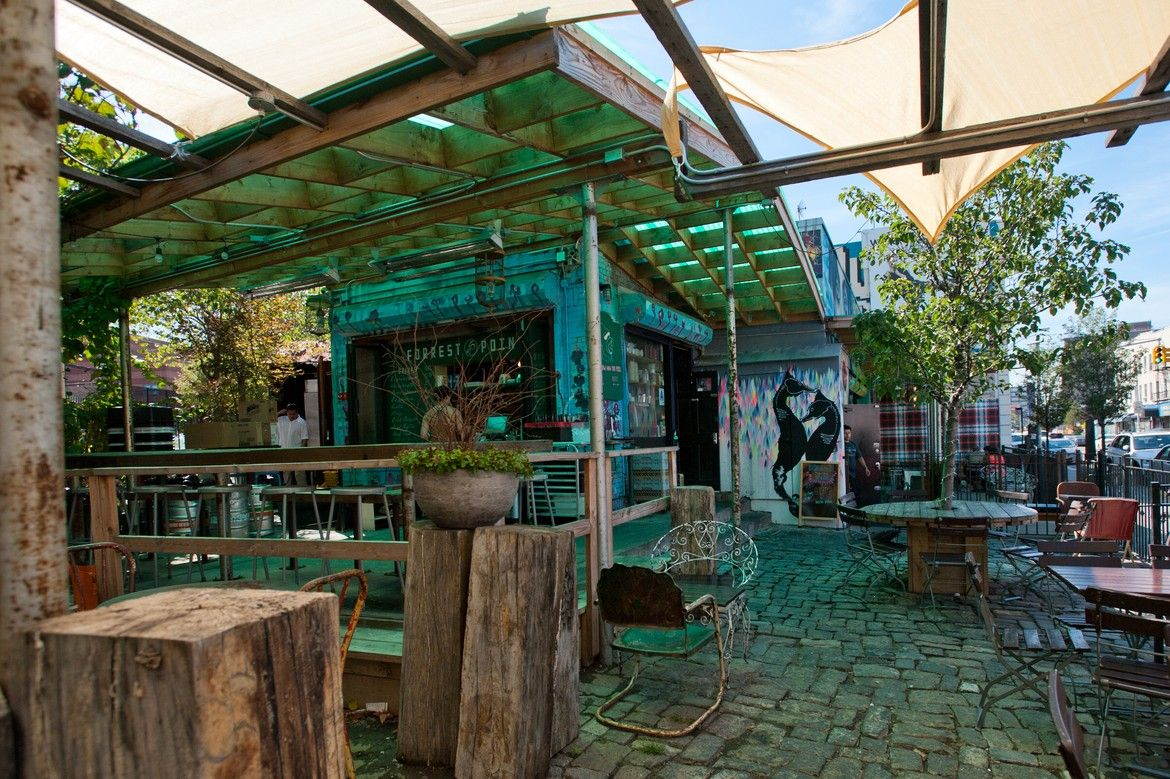 The best places for eating and drinking outside right now