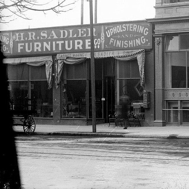Great Furniture Stores: Great Grandfather Sadler's Furniture Store In Early Denver