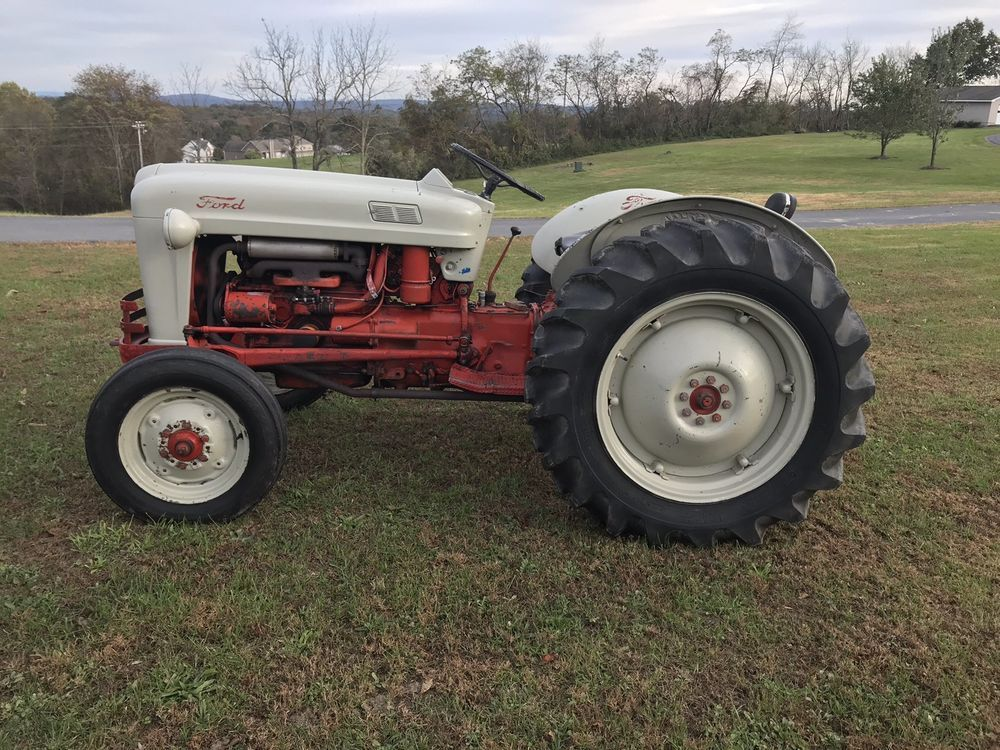 1953 Ford Golden Jubilee Naa Tractor Farming Countrysuppies