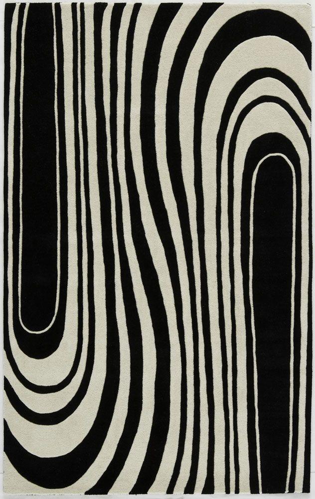 Camdyn Zebra Rug from the Rugs America Rugs collec
