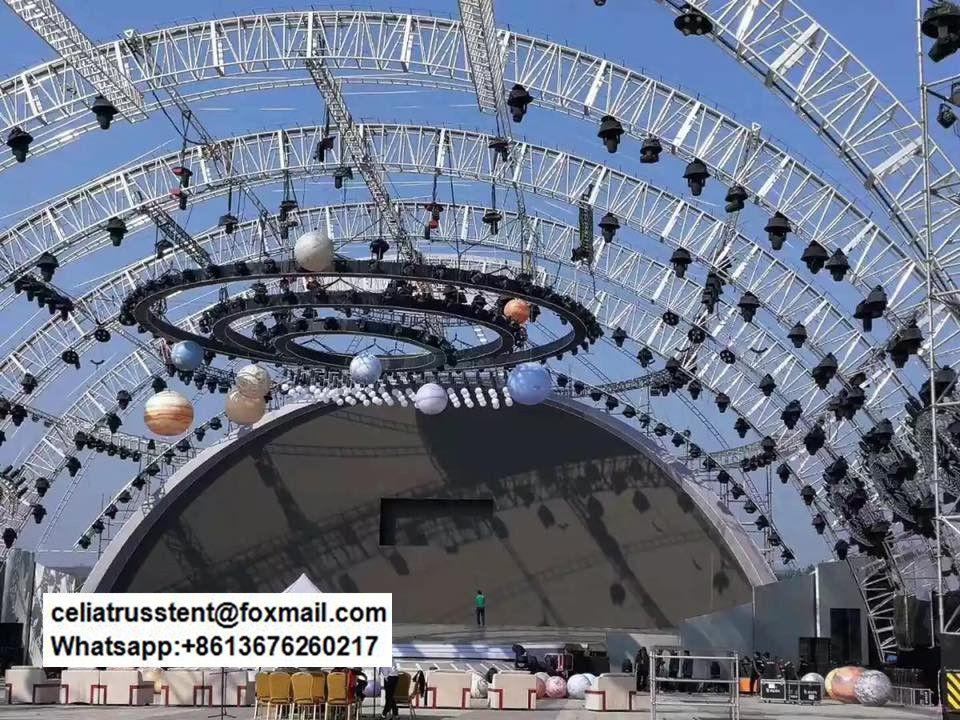 Concert Stage Truss Design Arch Roof Design Truss System