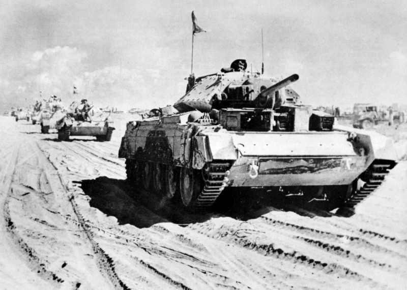 Image result for WW2 british tanks in North Africa