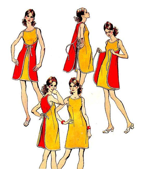 Wrap dress | Style chart | Pinterest | Nähen, Schnittmuster und ...