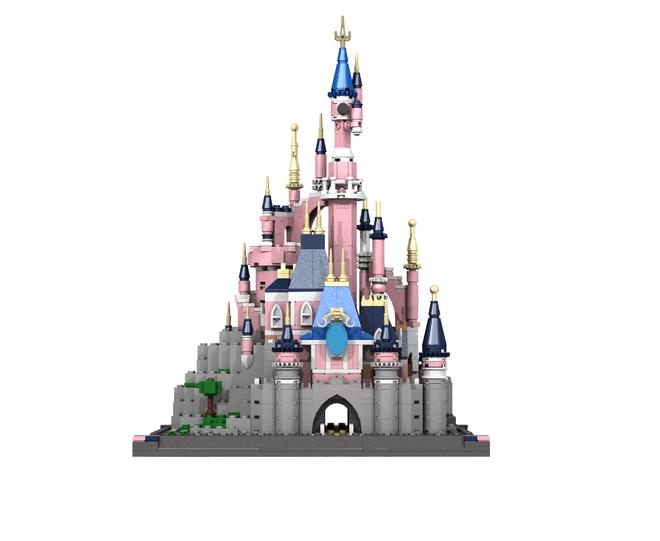 Sleeping Beauty Mini Castle Lego Disney Castle Disneyland Paris Castle Sleeping Beauty Castle