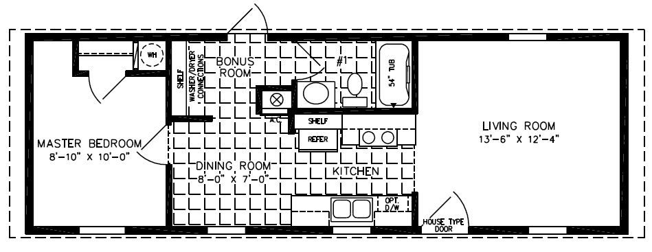 Floorplans For Manufactured Homes 500 To 799 Square Feet Mobile Home Floor Plans Manufactured Homes Floor Plans Single Wide Mobile Homes