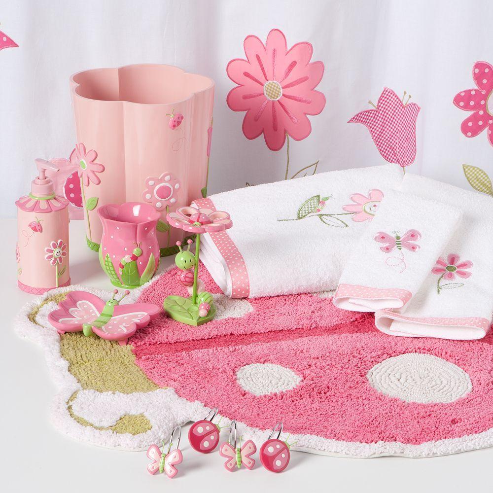 Kohlu0027s   Butterfly Garden Bath Accessories Girl Bathrooms, Bathroom Kids,  Butterfly Bathroom, Princess
