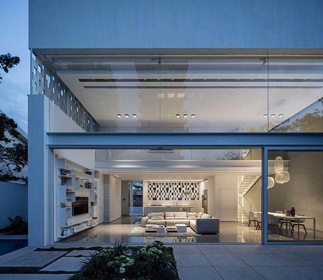 Casas minimalistas y modernas casas en israel - Casas con estructura metalica ...