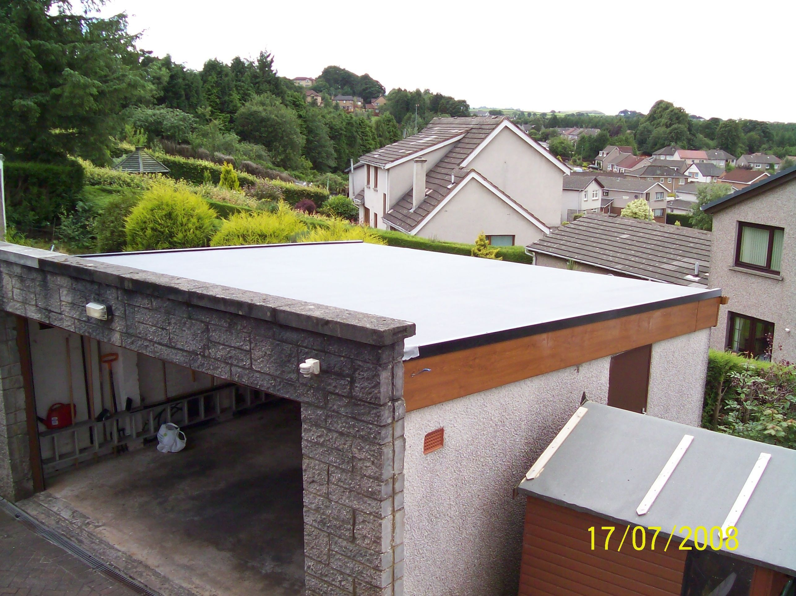 Garage Flat Roof Flatroofrepairideas Flat Roof Flat Roof Repair Roof