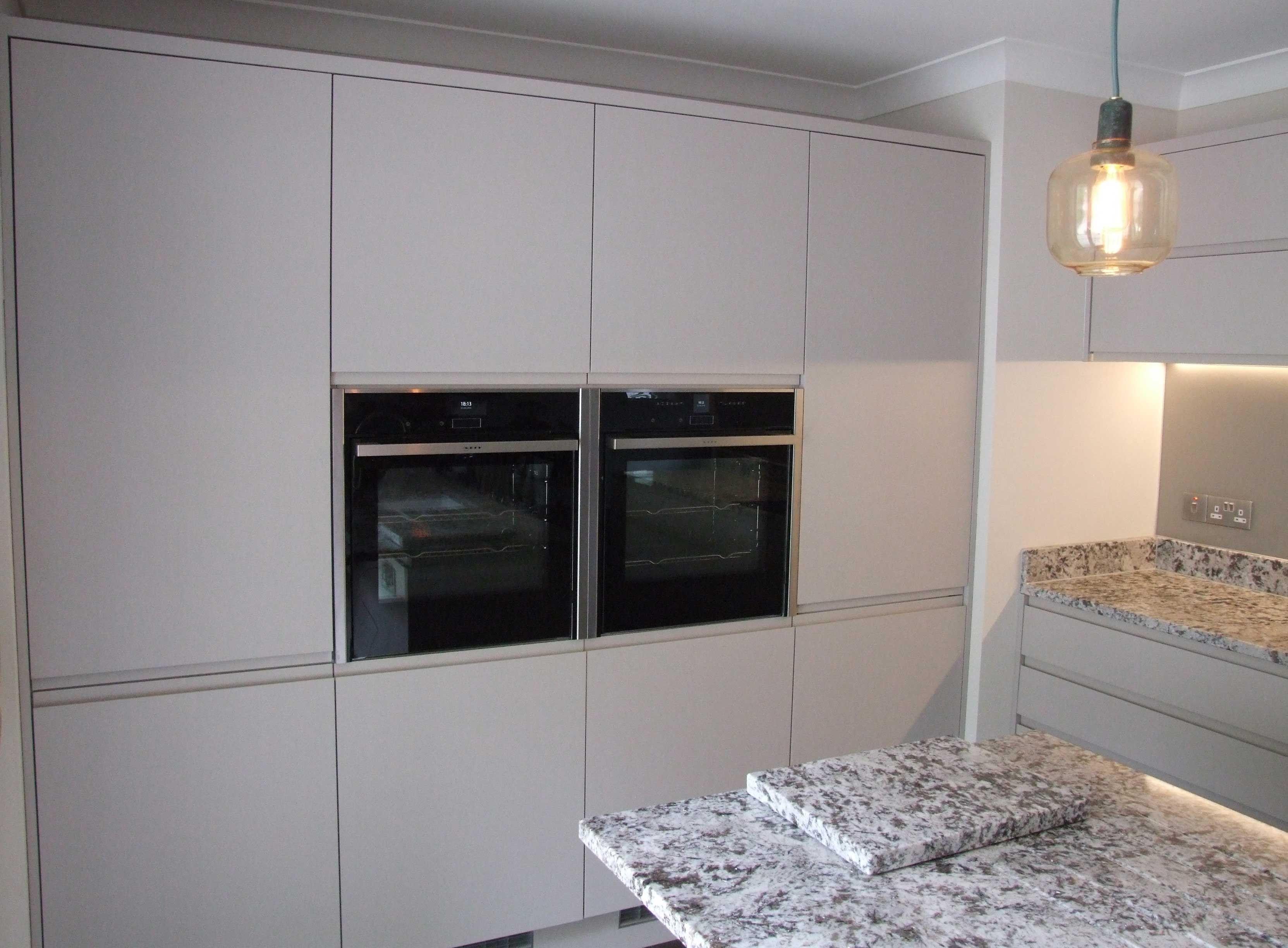Matt Cashmere Handleless Handleless Kitchen Cashmere Kitchen Kitchen Inspirations