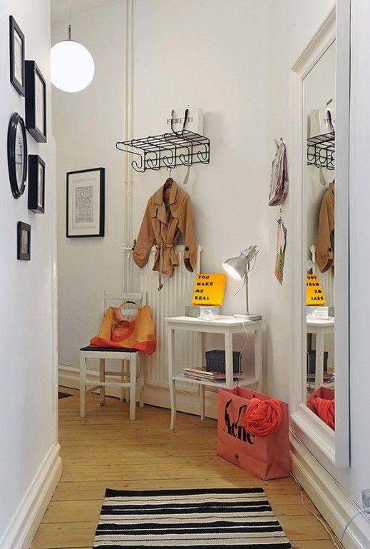 Small Scale Entryways via musings | Entryway | Pinterest | Modern ...