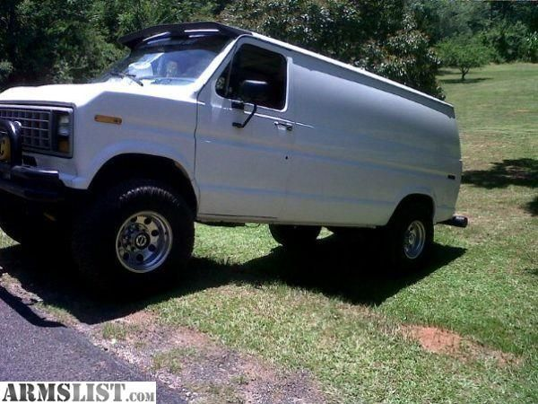 Armslist For Sale Ford E250 4x4 Cargo Van 351w Cargo Van