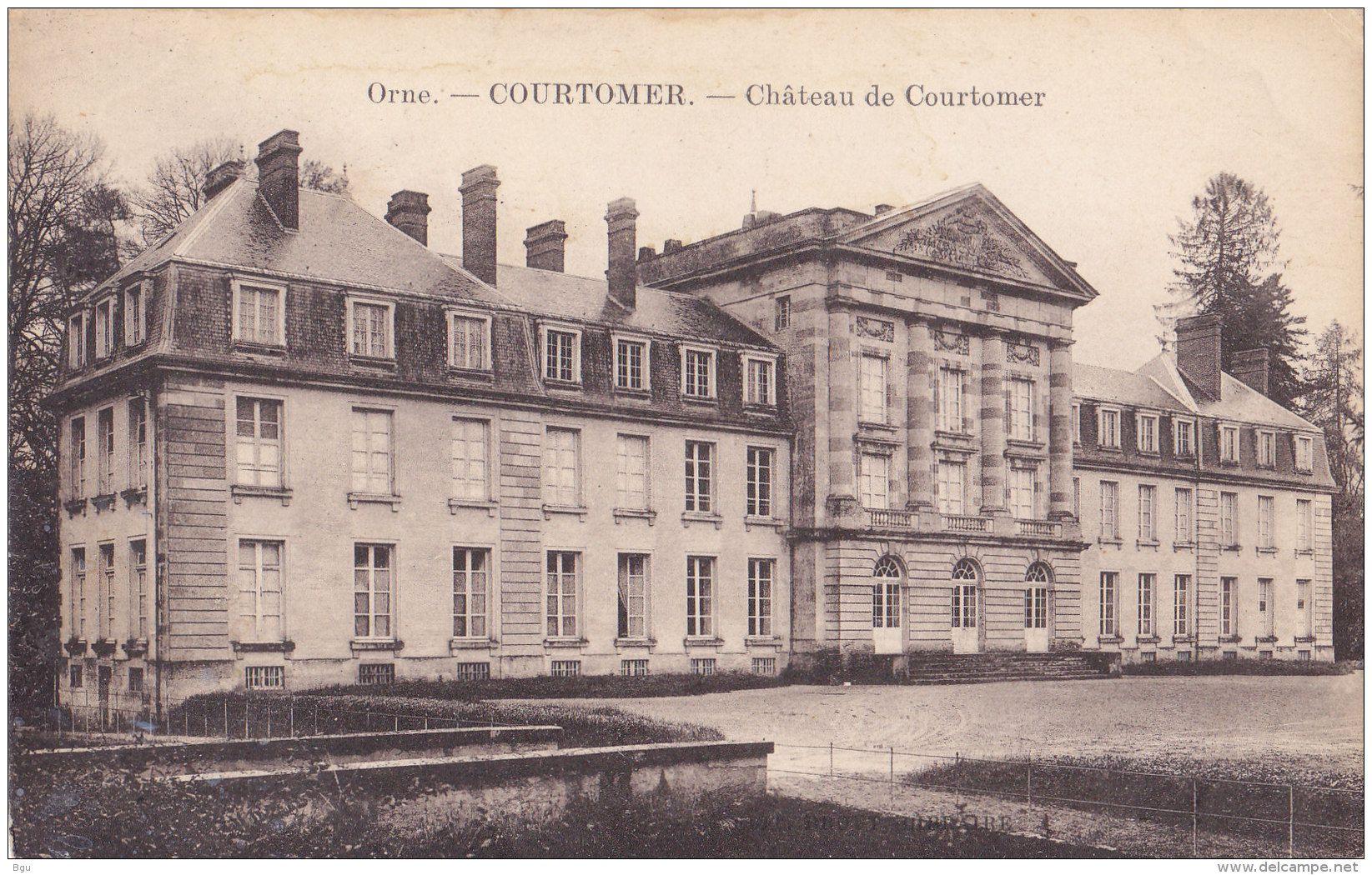 Courtomer - Courtomer (61) - Château
