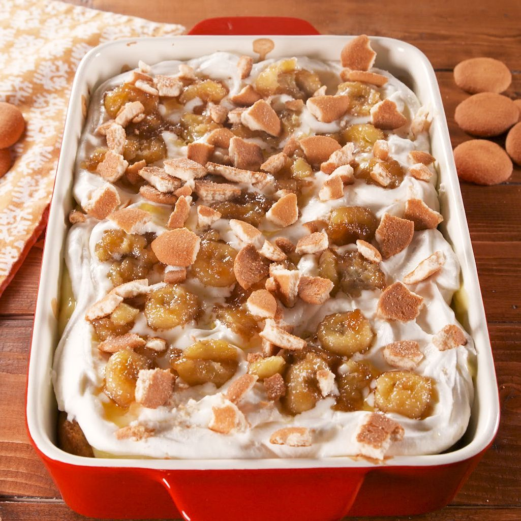 Banana cream pie bread pudding is the ultimate indulgence