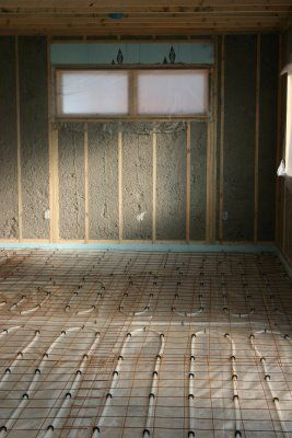 Radiant Heat Under Concrete Slab Modern Cabin Heated Concrete Floor Radiant Heat