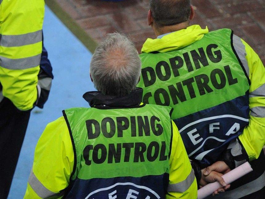 Controle anti-dopa de UEFA