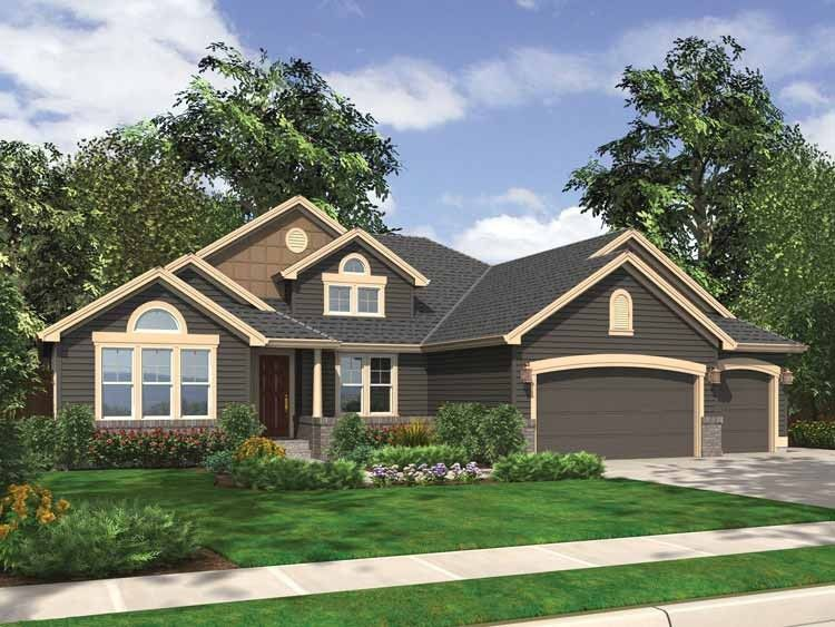 Eplans ranch house plan cozy ranch style house with all amenities 2550 square feet