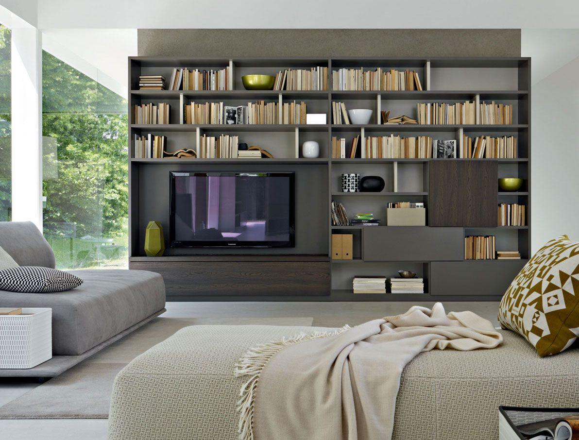 libreria molteni c ideas para el hogar nel 2019
